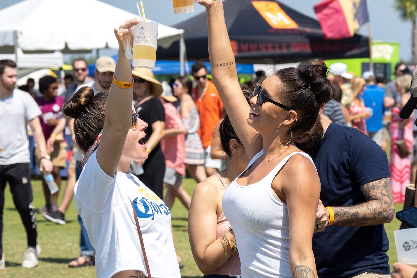 The 2021 Charleston Beer Festival, which was slated to take place October 9th in North Charleston's Riverfront Park, has been canceled.