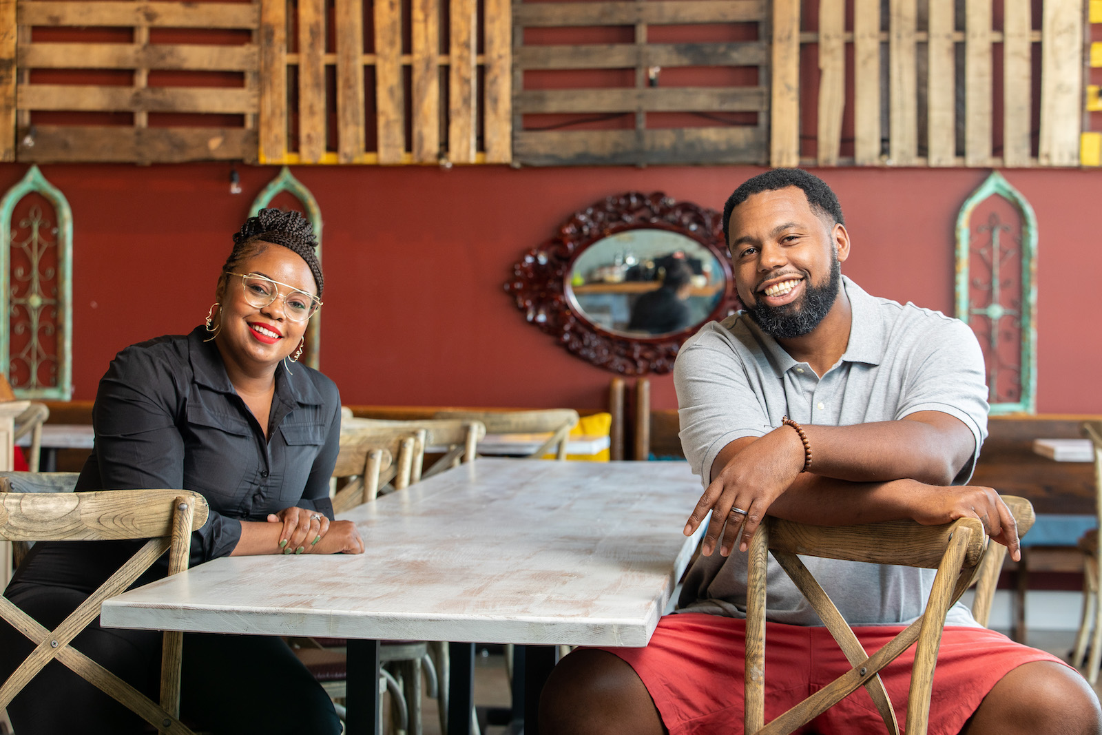 Subrina and Gregory Collier of Leah & Louise are the founders of the inaugural BayHaven Food & Wine Festival