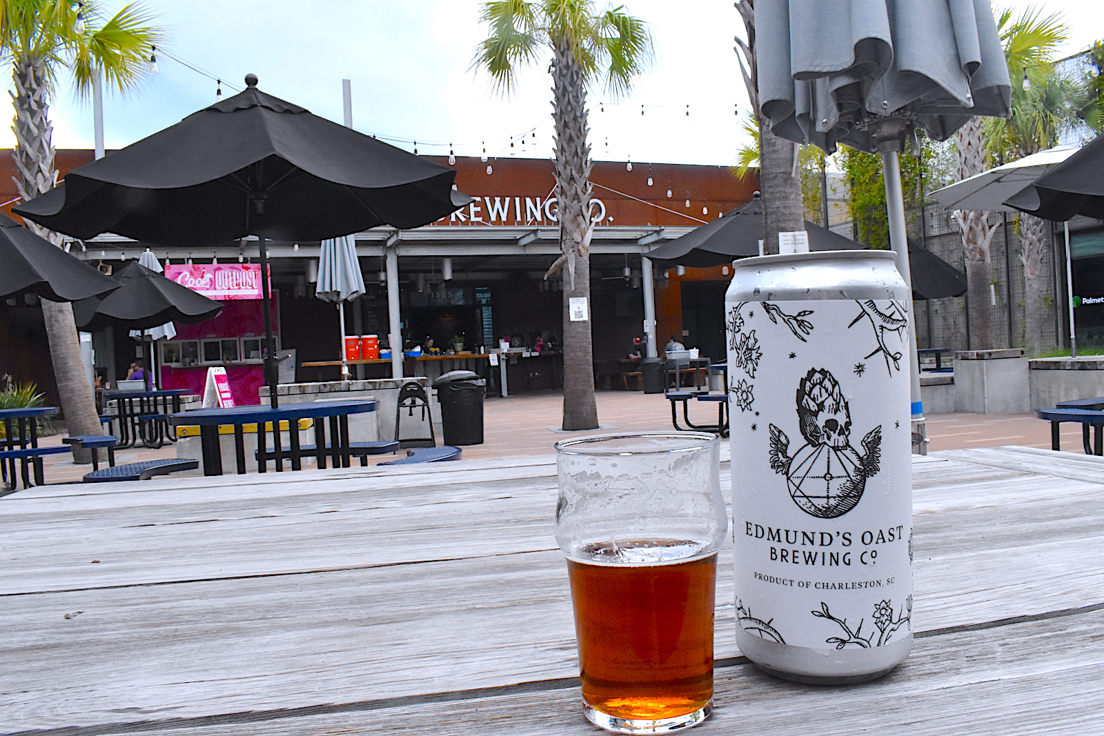 During the pandemic Edmund's Oast Brewing in Charleston pivoted to 32-ounce