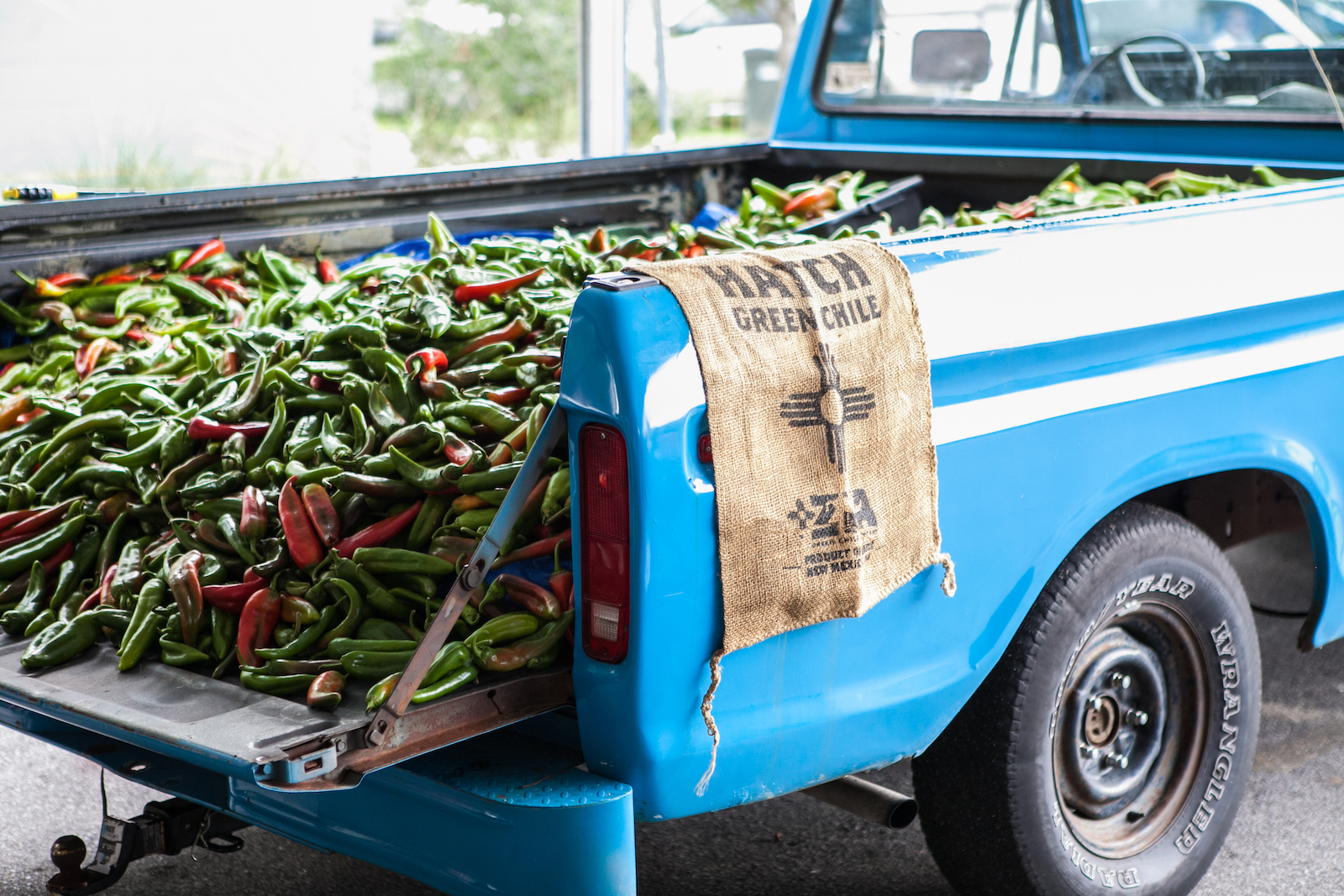 John Lewis of Lewis Barbecue will be trucking in 3,000 pounds of chile peppers all the way from Hatch, New Mexico, for his Oct. 10 chile roast