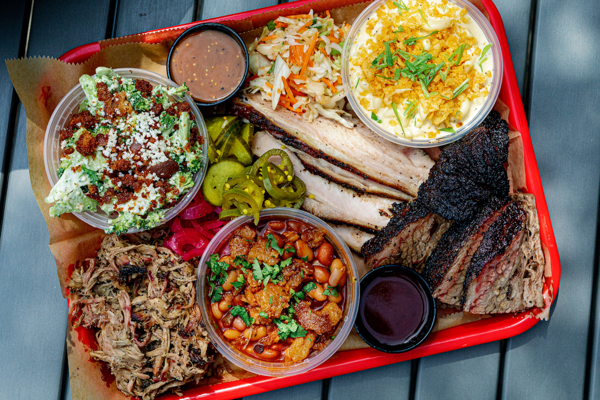 Brisket, pulled pork, and turkey headline the menu at Lawrence Barbecue