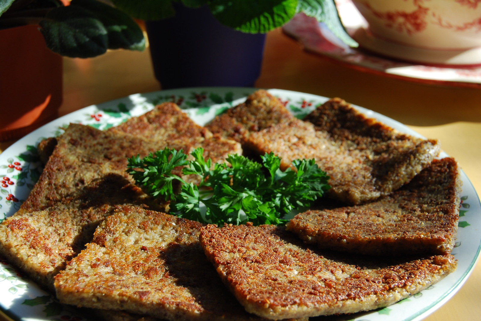Fried liver pudding is a long-standing South Carolina breakfast dish
