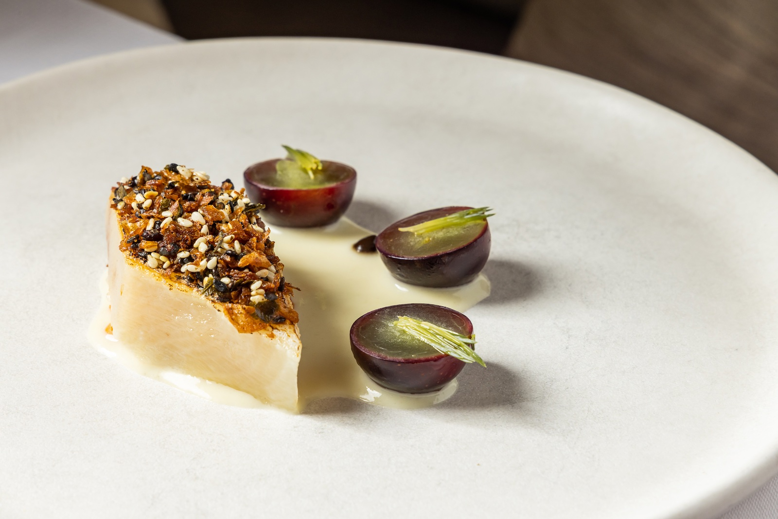 Pristine plates like lightly grilled mackerel adorn the impressive tasting menu at Zero Restaurant