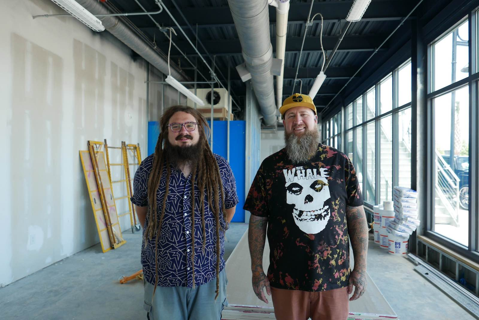 Co-owners Jesse Van Note and Andrew Ross are bringing to the Lowcountry an outpost of the Asheville-based beer collective the Whale