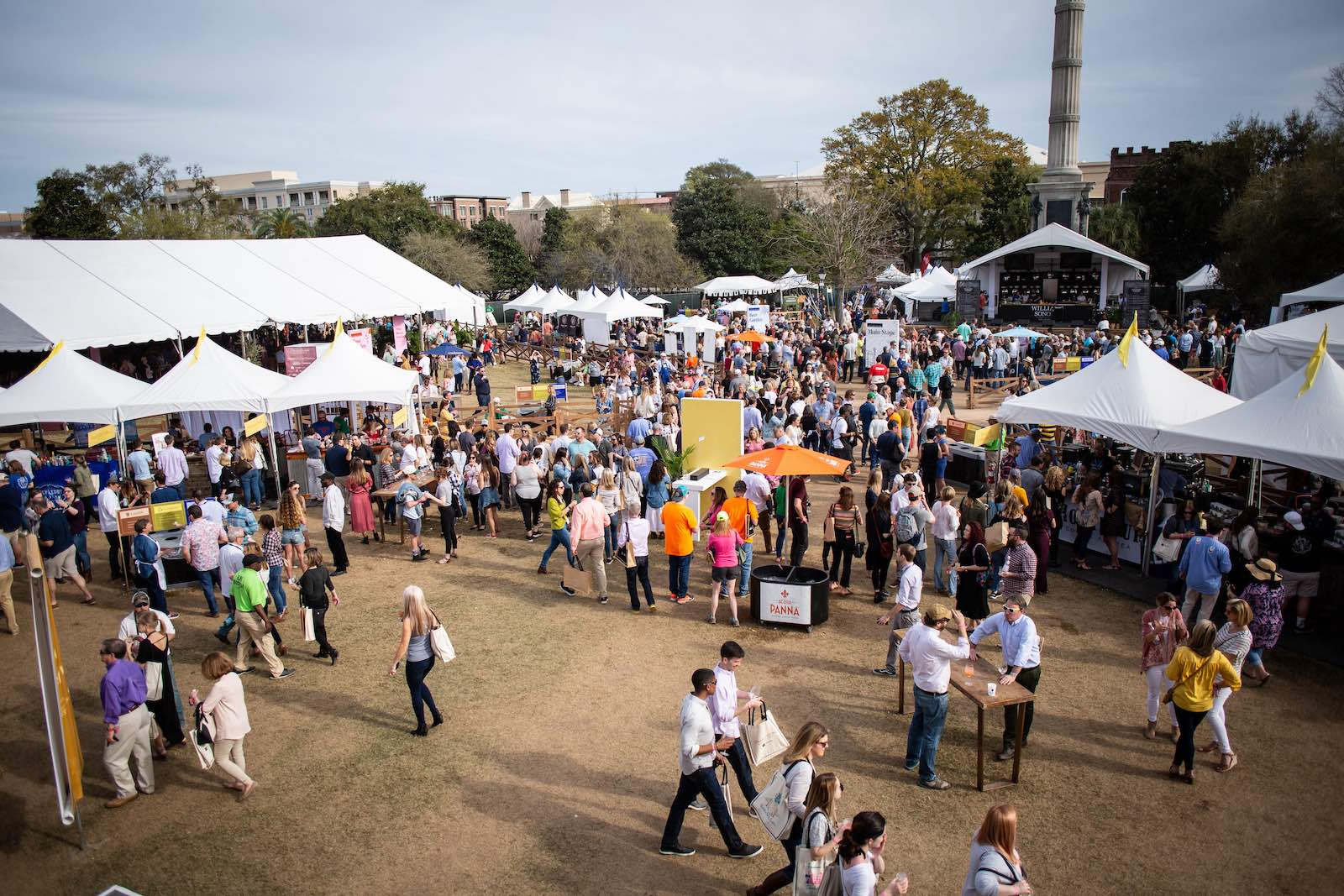 The Culinary Village will be returning for the 2022 Charleston Wine + Food Festival but not to its former home in Marion Square